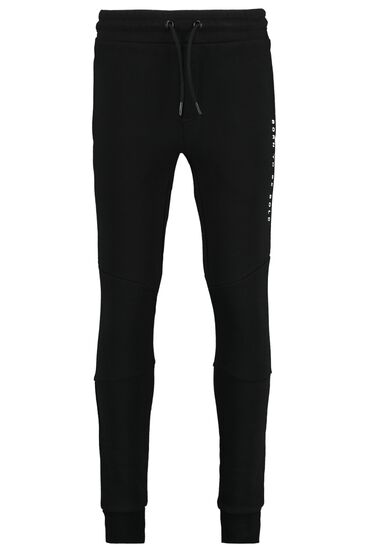 Joggingbroek met tekstprint