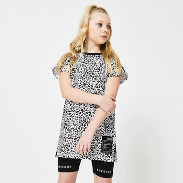 Jurk all-over print
