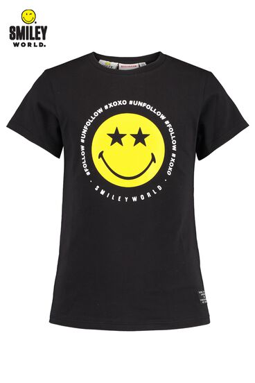 CoolCat x SmileyWorld t-shirt print