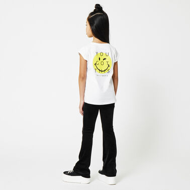 CoolCat x SmileyWorld t-shirt kapmouw