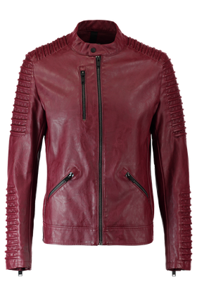 Leather look jas Kalmar