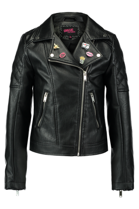 Leather look jas Kbikey
