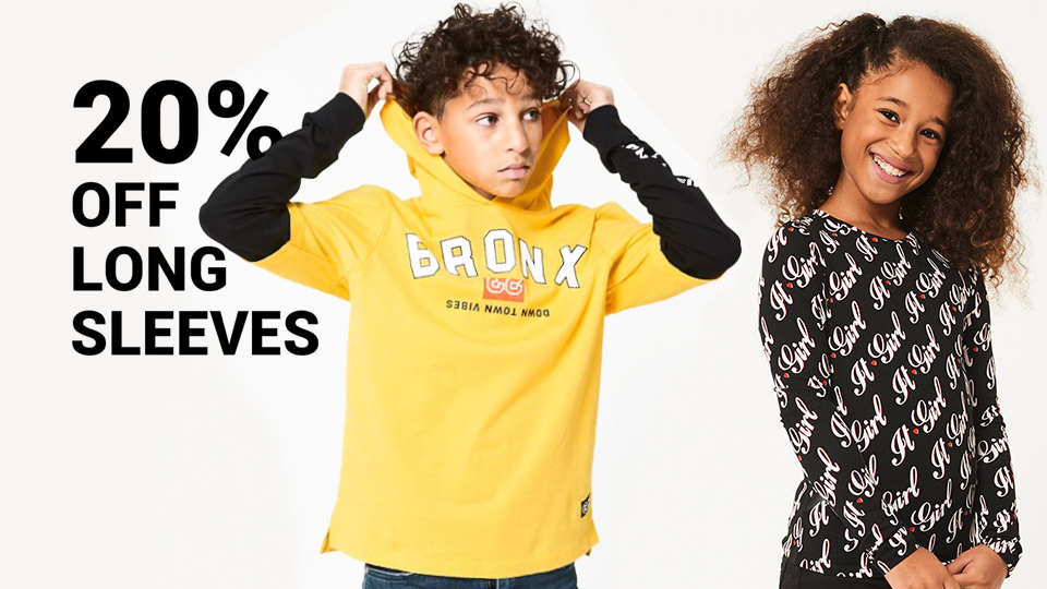 20% off longsleeves
